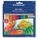 COLOURED PENCIL STAEDTLER NORIS CLUB FULL LENGTH PACK 24